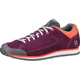 Haglöfs Roc Lite Shoes Dame aubergine/habanero